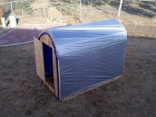 Order Ice Fishing Shanty Plans by Mail - Complete Plans to Make an